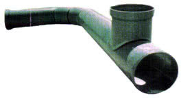 An example of Lobster Back Bend and T Joint easily achieved with The Green Pipe.